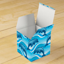 Dolphin jumping waves favor box