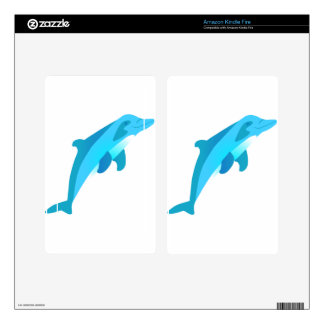 Dolphin Kindle Fire Decals