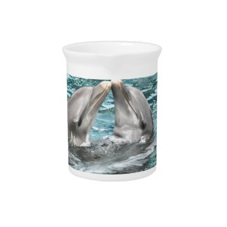 Dolphin Kiss Drink Pitcher