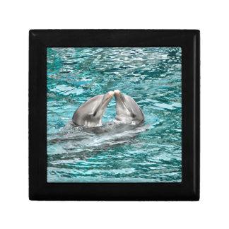 Dolphin Kiss Jewelry Box