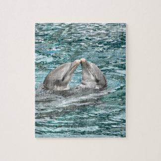 Dolphin Kiss Jigsaw Puzzle