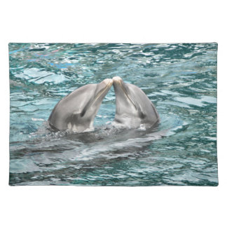 Dolphin Kiss Placemat