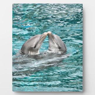 Dolphin Kiss Plaque