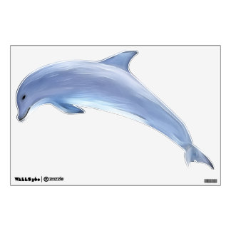 Dolphin Left Facing Wall Sticker