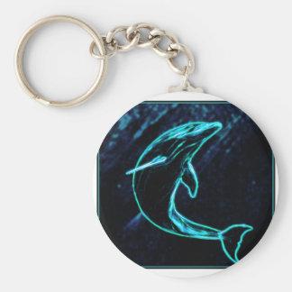 Dolphin (Light Dolphin) Keychain