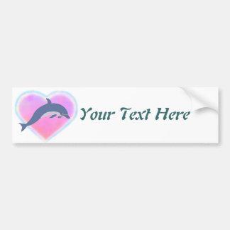 Dolphin Love custom Bumper Stickers