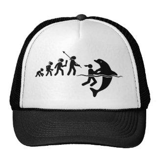 Dolphin Lover Trucker Hats