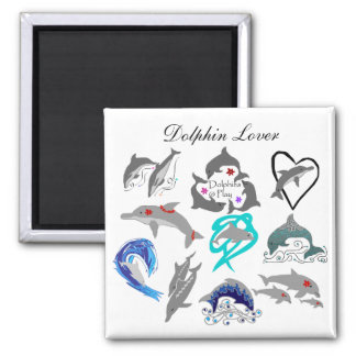 Dolphin lover magnet