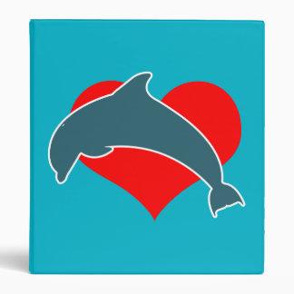 Dolphin Luv Binder