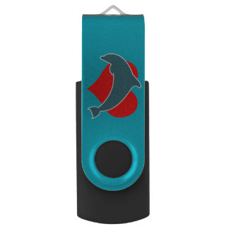Dolphin Luv Flash Drive