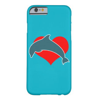 Dolphin Luv iPhone Case