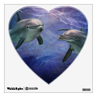 Dolphin Magic Wall Decal