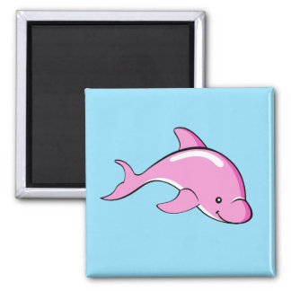 Dolphin magnet blue