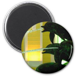 Dolphin Magnet (Round)