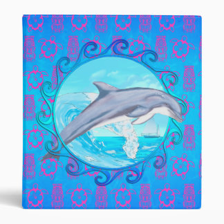 Dolphin Maori Sun Vinyl Binders