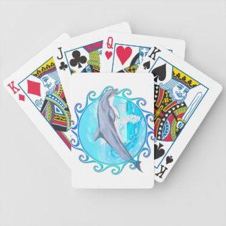 Dolphin Maori Sun Bicycle Playing Cards