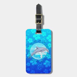 Dolphin Maori Sun Tags For Bags