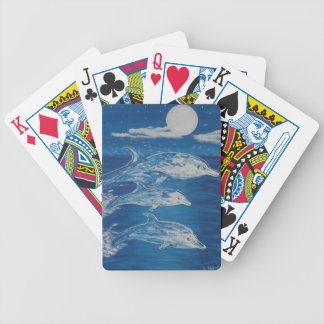 Dolphin Midnight Swim Bicycle Poker Cards