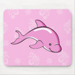 Dolphin mousepad pink