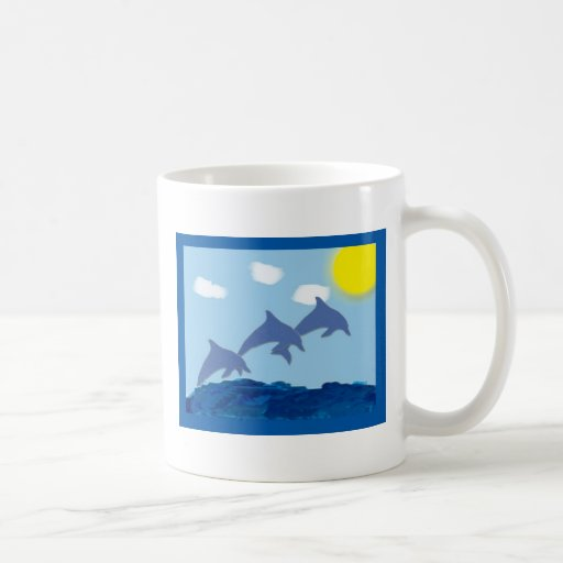 Dolphin Mug by KESS Creations