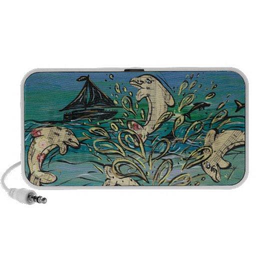 Dolphin Music speaker
