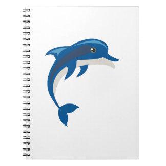 Dolphin Spiral Notebooks