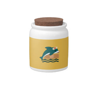 Dolphin Nurse Candy Jar