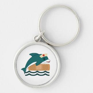 Dolphin Nurse Keychain