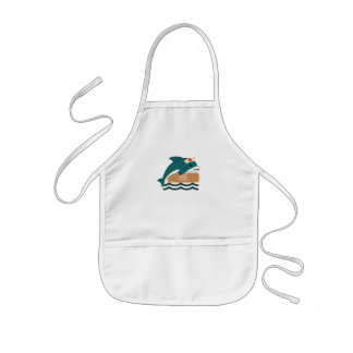 Dolphin Nurse Kids' Apron