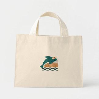 Dolphin Nurse Mini Tote Bag