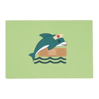Dolphin Nurse Placemat