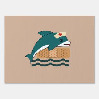 Dolphin Nurse Sign