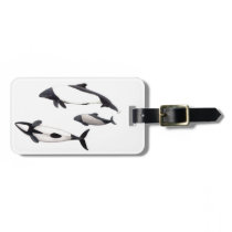 Dolphin of Commerson Luggage Tag