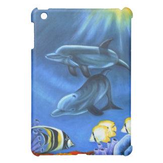 Dolphin Original Art iPad Mini Case