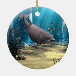 Dolphin Christmas Ornaments