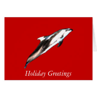 Dolphin Painting Card
