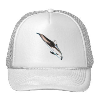 Dolphin Painting Trucker Hat