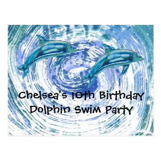 Dolphin Party Cards
