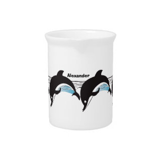 Dolphin Party Gifts Beverage Pitcher