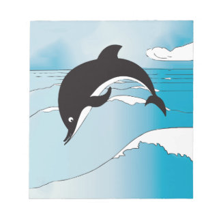 Dolphin Party Gifts Note Pad