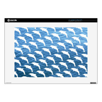 Dolphin Pattern Decals For Laptops