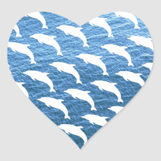 Dolphin Pattern Stickers