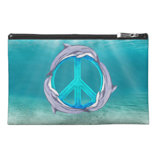 Dolphin Peace Travel Accessories Bag