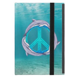 Dolphin Peace Cover For iPad Mini