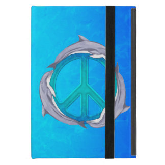 Dolphin Peace iPad Mini Covers
