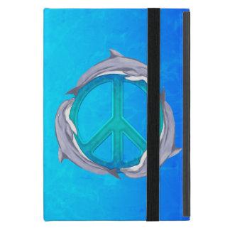 Dolphin Peace iPad Mini Covers