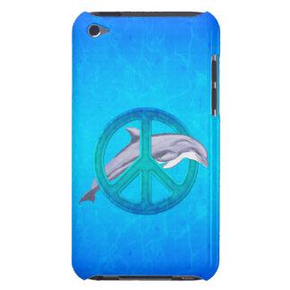 Dolphin Peace iPod Case-Mate Case