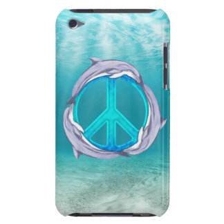 Dolphin Peace iPod Touch Cases