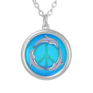 Dolphin Peace Pendants