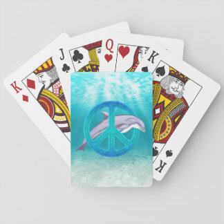 Dolphin Peace Playing Cards